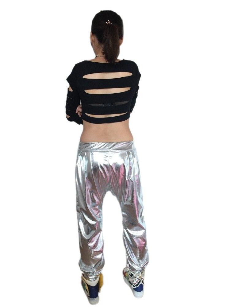 Új divat Sweatpants Paillette jelmezek női ruházat spliced - Női ruházat - Fénykép 4