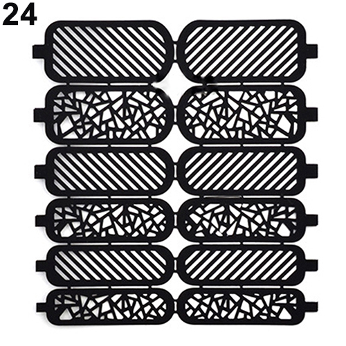 Hot sale! Fashion Nail Art Template Stickers Reusable Stamp Stencil Guide Manicure DIY Kit