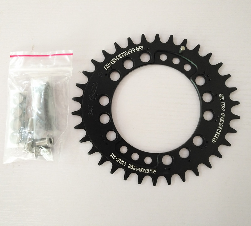 FOURIERS 96 Bcd oval Chainring Mountain BIke Crankset AM FR DH Chainwheel Bicycle Parts DX8000 OV