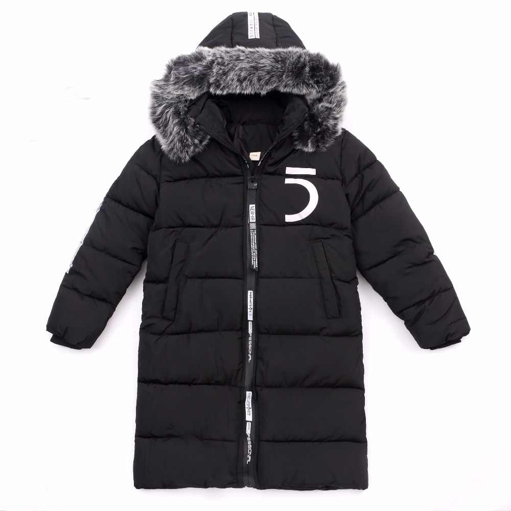 f36aa639f386 ... Boy Jacket 12 Children s Clothing 13 Boys 14 Winter Clothing 15 Jacket  2018 New Thick Cotton ...