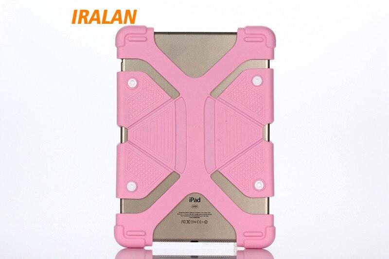 Universal silicone Case for Screen 7 - 8 tablet PC all round protector Cover +kickstand flexible rubber silicon shell coque inov 8 сумка all terrain kitbag black