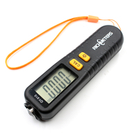 GY910 Digital Coating Thickness Gauge Tester Diagnostic Tool Measuring Fe NFe Coatings LCD Display Russian English