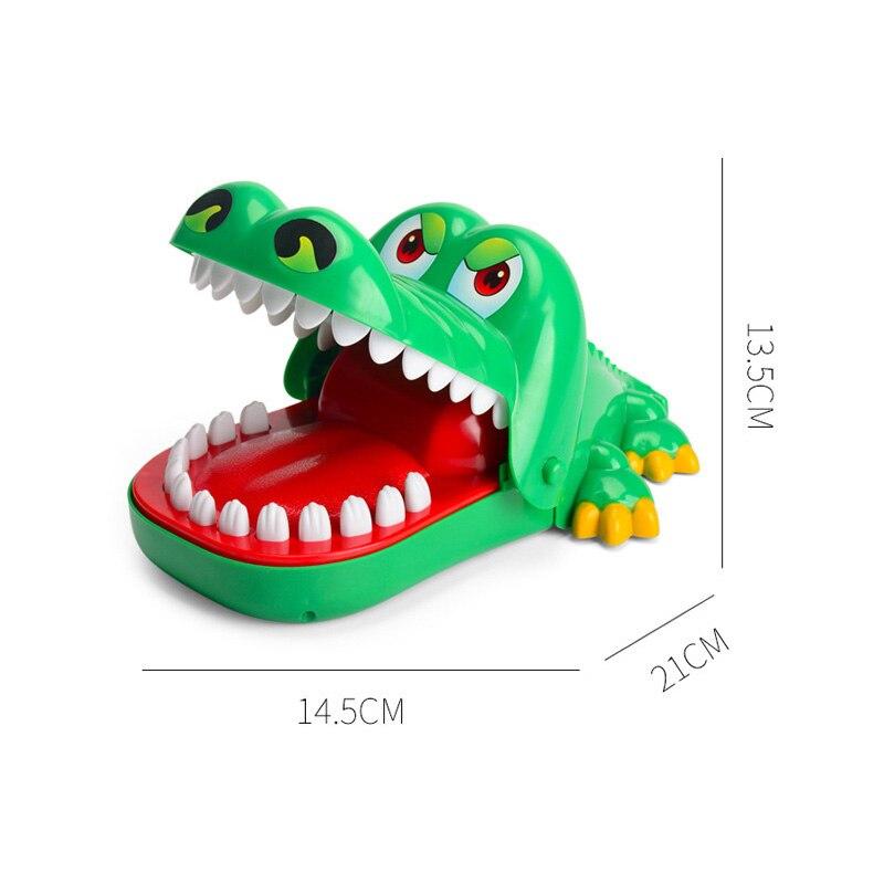 Funny Crocodile Mouth Dentist Bite Finger Game Gags Novetly Joke Toy For Kids