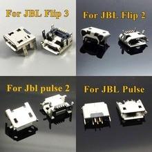 ChengHaoRan 20pcs For JBL FLIP 3 2 Pulse Bluetooth Speaker Micro USB Jack Dock Charging Port Charger Connector Repair parts