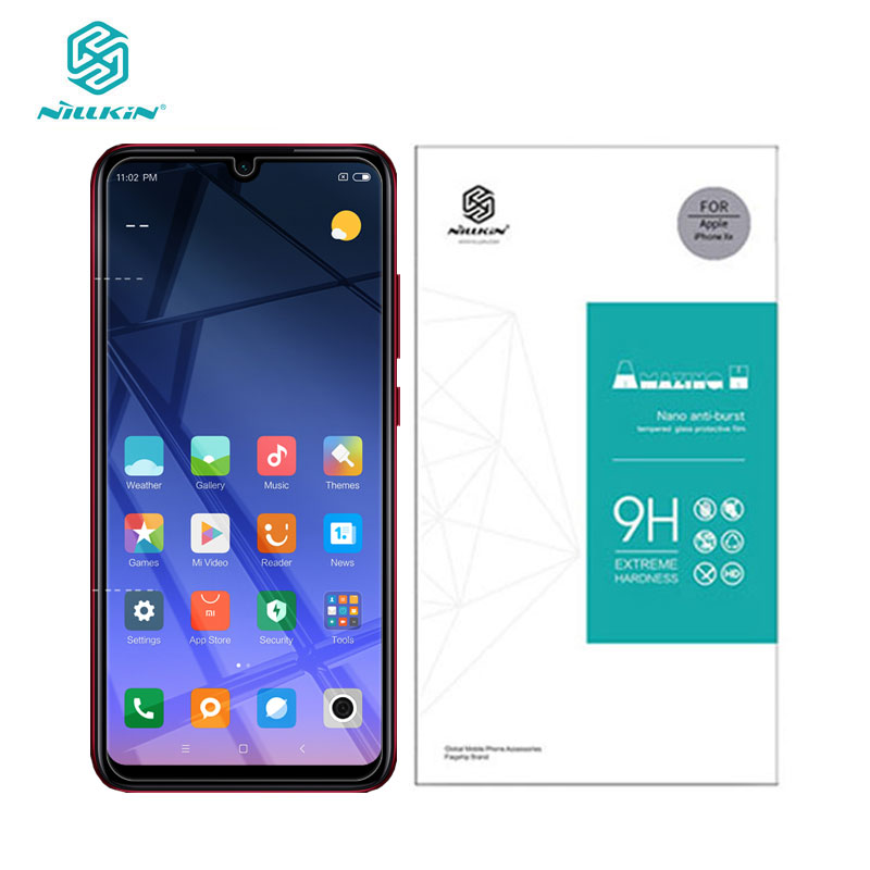 Redmi Note 7 Glass Nillkin Amazing H 0.33MM Screen Protector Tempered Glass For Xiaomi Redmi Note 7 Pro 7S