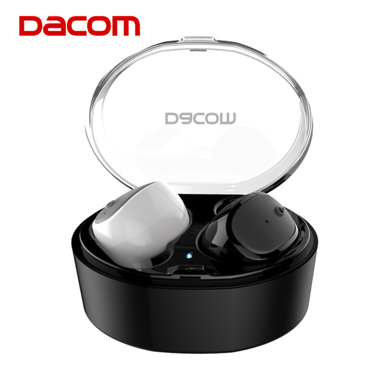 Dacom S030 Mini Wireless Bluetooth Earphone Hands-free Earpiece In-ear Stereo Headset  Headphone for iPhone xiaomi LG dacom tws 7s true wireless bluetooth headset mini bluetooth 4 2 wireless earpiece earbuds in ear earphone for iphone 7 android