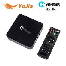 [Auténtica] VONTAR MX-4K RK3229 Rockchip Quad Core Android 5.1 TV BOX 1 GB/8 GB 2.4G WiFi 4 K H.265 Soporte OTA MXQ-4K Set Top caja