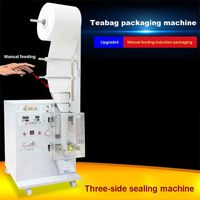 New 110V/220V Teabag Packaging Machine Manual Feeding Induction Electronic Hardware Plastic Parts Food Packaging Sealing Machine