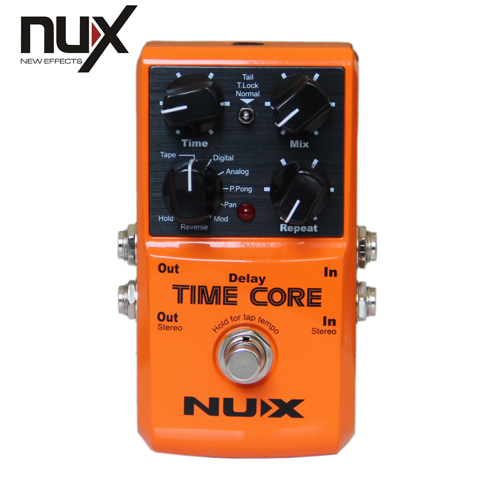 ФОТО NUX Time Core Digital Delay Effects Pedal for Electric Guitar