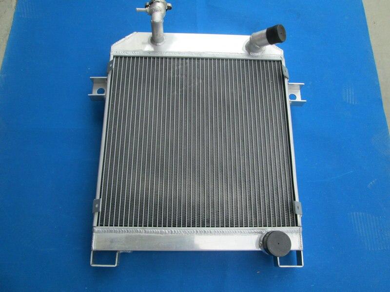 56MM ALUMINUM RADIATOR JAGUAR MK1//MK2 MK I//MKII S-TYPE SALOON MT 1955-1967 56