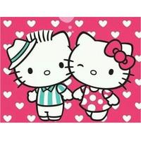 New 5d Diy Diamond Painting Animal Hello Kitty Full Diamond Embroidery Painting Diamond Painting KIT For