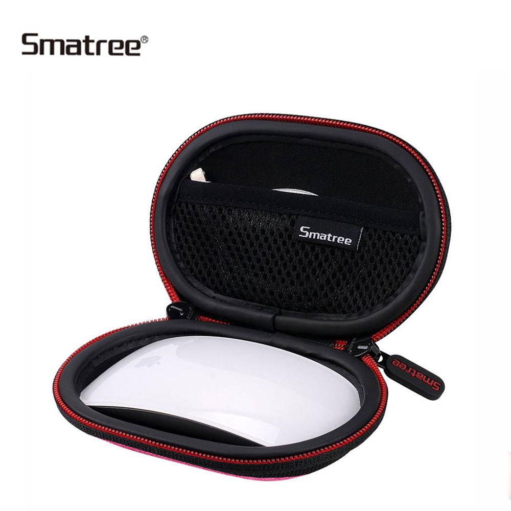 цена на Smatree Mini Waterproof Carrying Case For Apple Magic Mouse 2 Protective Bag Travel Case portable Wireless Mouse Case