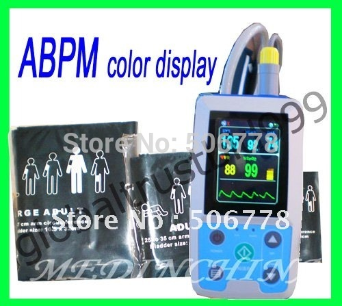 Ambulatory Blood Pressure monitor/ABP monitor with CE certificate portable ce fda lcd screen ambulatory blood pressure monitor automatic 24h bp measurement blood pressure monitor