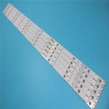 Neue Kit 5 PCS 10LED (3 V) 842,5mm led hintergrundbeleuchtung streifen für 43PFT4131 43PFS5301 GJ 2K15 430 D510 GJ 2K16 430 D510 V4 01Q58 A