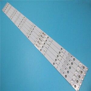 Image 1 - Neue Kit 5 PCS 10LED (3 V) 842,5mm led hintergrundbeleuchtung streifen für 43PFT4131 43PFS5301 GJ 2K15 430 D510 GJ 2K16 430 D510 V4 01Q58 A