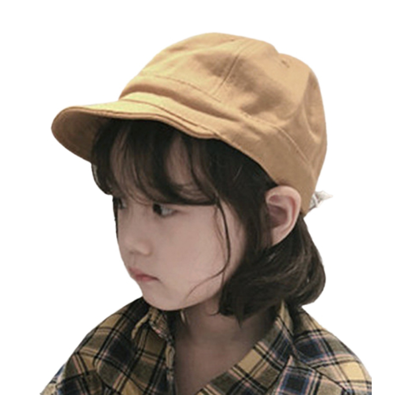 Baby Hats Boys Girls Children Casual Caps Hats Child Sun Protection Fashion Solid Color Holiday Travel Headwear