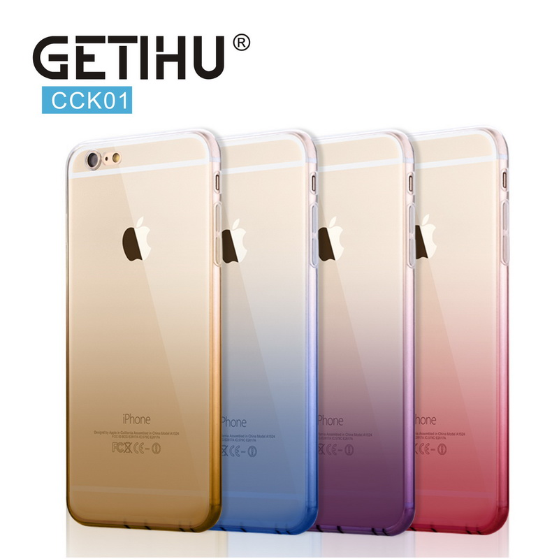 Mobile Phone Bags & Cases  Mobile Phone Bags & Cases: Cases For iPhone 6 6s Plus 6Plus Fashionable Dress Shopping Modern Girls Painted TPU Transparent Clear Soft Silicon Phone Cover