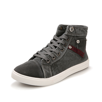 Pop Nice Men Casual Shoes Retro Canvas Boots, CLEARANCE PRICE, REFUSAL NEGATIVE FEEDBACK, PLEASE CHECK CAREFULLY BEFORE BUYING