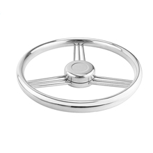 Steering Wheel 9 Spokes   Style Steering Wheel for Marine Boat Yacht Marine Grade Stainless Steel Boat Steering Wheel все цены