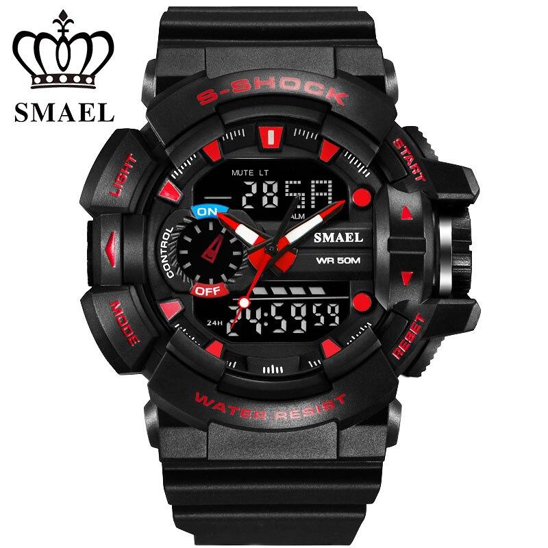 2017 Newest Digital Watch Brand Fashion Led Watches Men G Style Waterproof Sports Military S-Shock Mens Luxury Quartz Watches