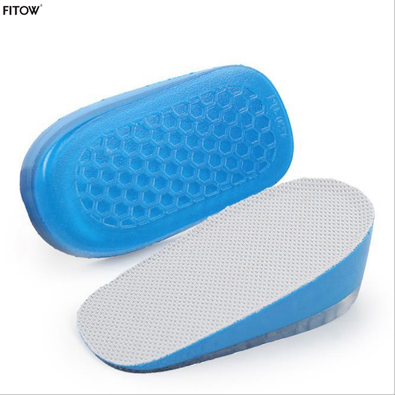 Unisex Invisible Height Increasing Half Insoles Heighten Heel Insert Shoes Pad Cushion Unisex 1 5 3 5cm Height Increase Insoles in Insoles from Shoes