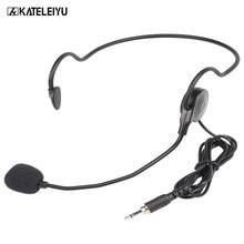 Microfone profissional dos microfones do fone de ouvido pequeno apropriado para a reunião me6 do ensino