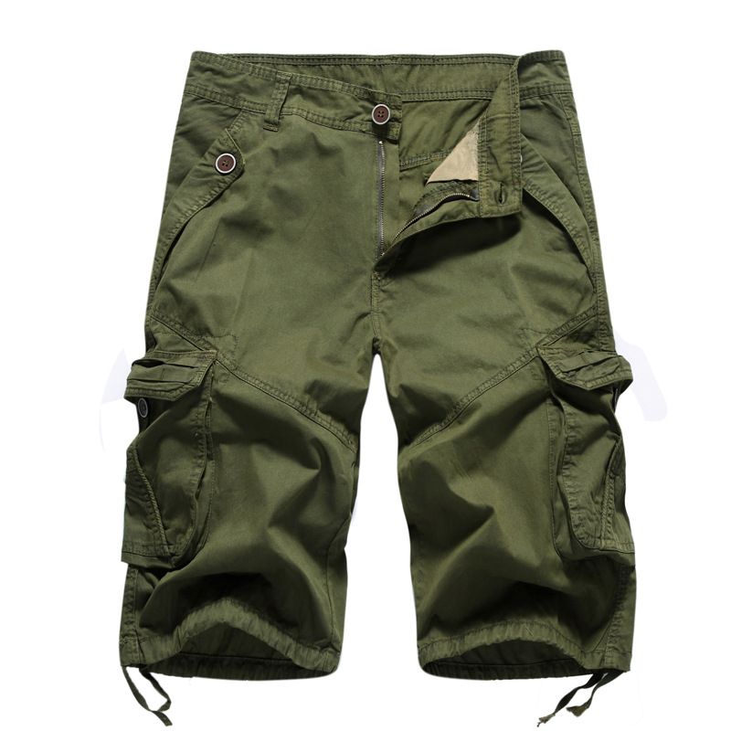 Mens Military Cargo Shorts 2018 Summer Brand New Army Tactical Shorts Men Cotton Loose Work Casual Cargo Short Pants Plus Size