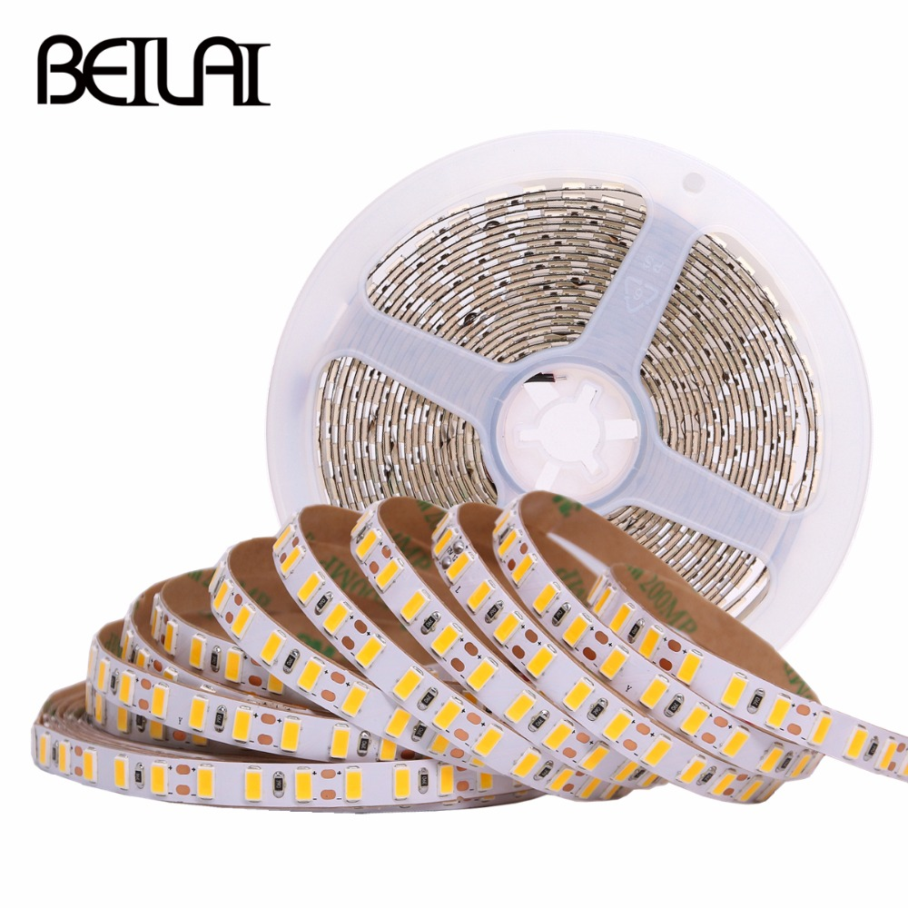 5630 DC 12V LED Strip 5m 600LED Flexible LED Light Strip IP20 IP65 IP67 Waterproof 120led/m Neon Tape Super Bright Home Lighting