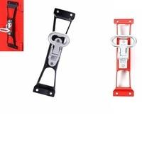 Door Hinges Foot Rest Pedal Peg for Jeep JK Wrangler & Unlimited 2007 2018 Steel Door Pedal
