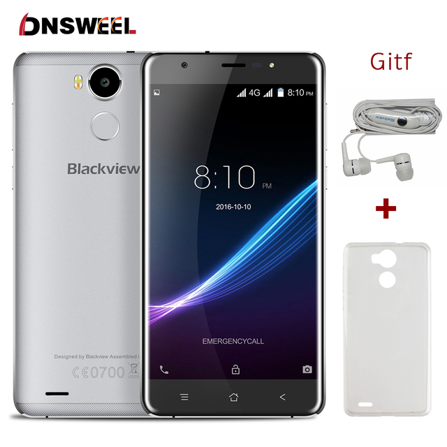 Blackview R6 3G+32G 4G smartphone MT6737 Quad Core Fingerprint ID Mobile Phone 5.5inch FHD 1920x1080 13MP Android 6.0 cell phone