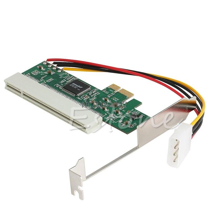 PCI-Express PCI-E To PCI Bus Riser Card High Efficiency Adapter Converter