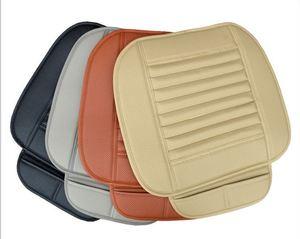 Image 5 - Auto Drivers Zitkussen Bamboe Houtskool Auto Kussen Auto Seat Cover Pad Lederen Slijtvaste Auto Pads