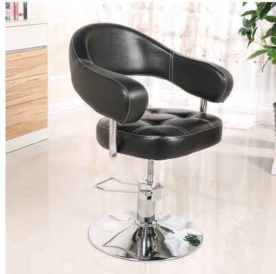 Hairdressing retro iron industrial wind hair chair factory direct hair salon barber shop special swivel chair hair salon barber chair hairdressing chair put down the barber chair