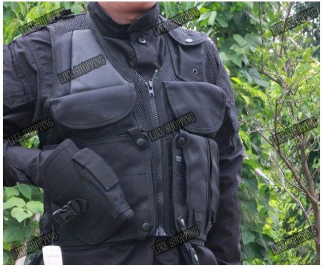 Tactical Combat Hunting Vest black