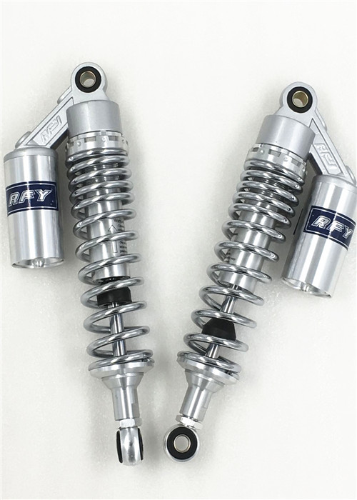 12 5inch 320mm 1 Pair Chrome Motorcycle Rear Air Shock Absorber For HONDA xjr400 CB400 Super