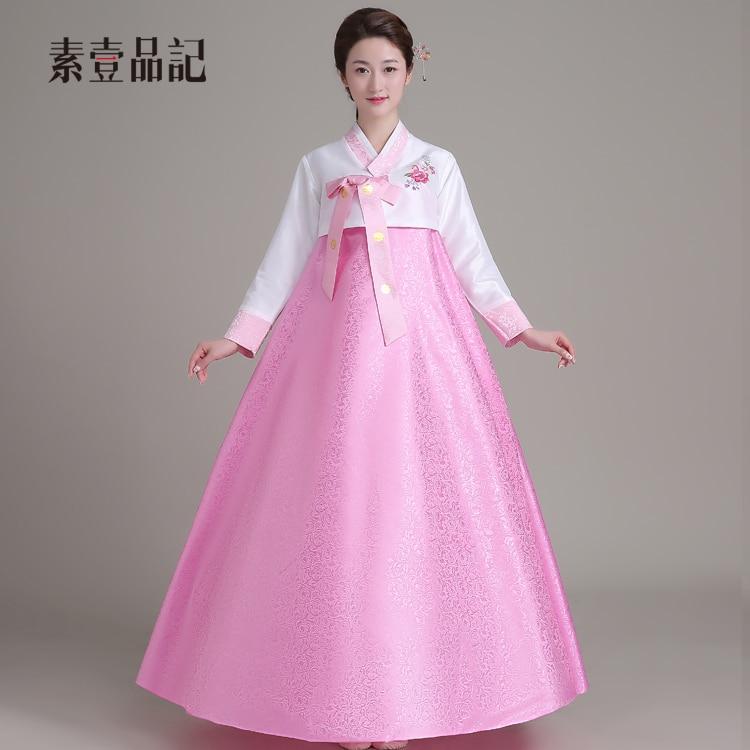 En un pinji coreano trajes boda tradicional Palacio señora ropa ...