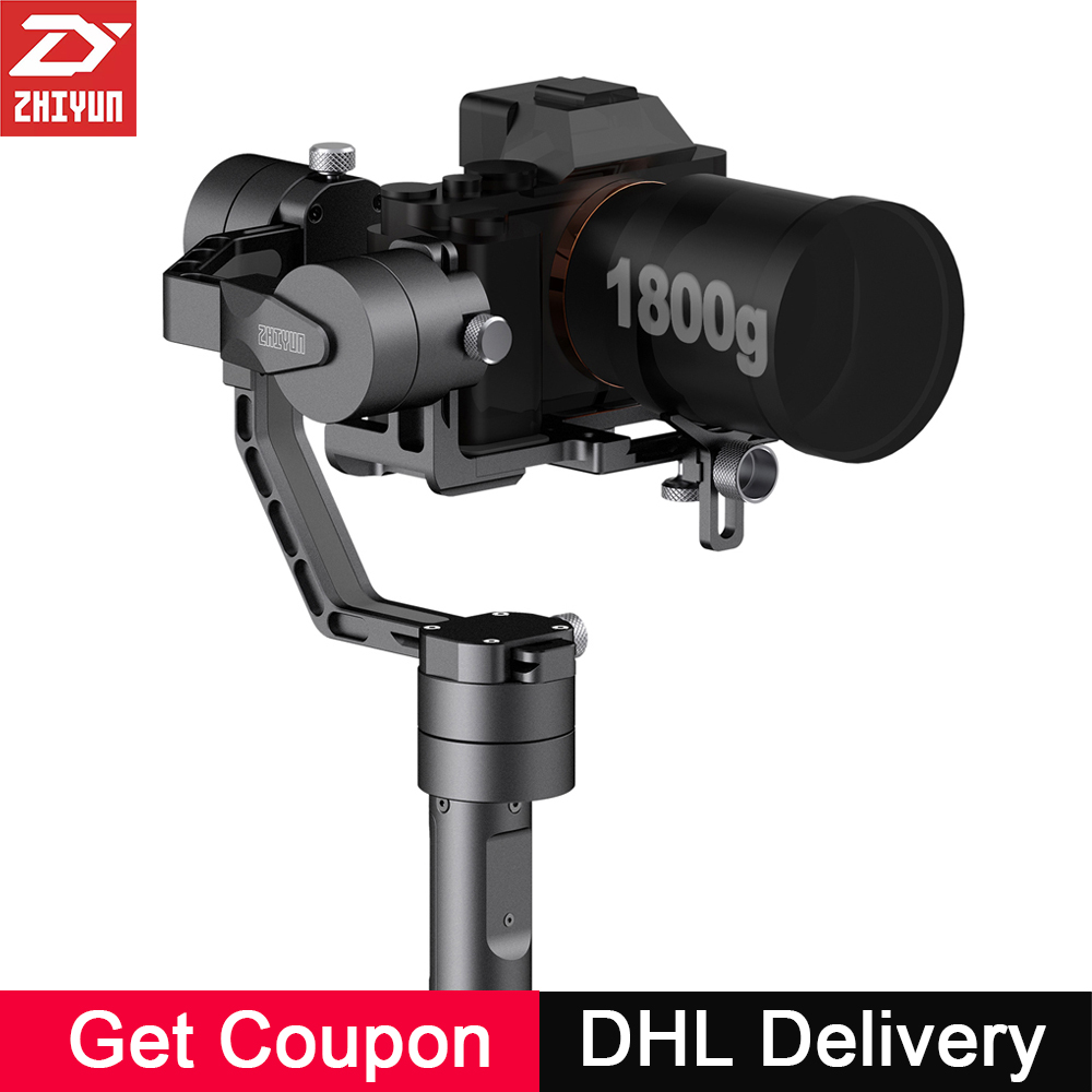 Zhiyun Crane V2 3-Axis Handheld Camera Gimbal 3 Axis Video Stabilizer 3 32Bit Brushless Motors for Canon Nikon Mirrorless Camera professional dv camera crane jib 3m 6m 19 ft square for video camera filming with 2 axis motorized head