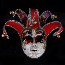 Jester Party Mask Venice Masks Props Masquerade Christmas Halloween Venetian Costumes For Carnival