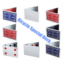 56pcs / Pack Bicycle Gaff Deck Magic Variety Type Playing Cards Magic Cards Apoyos especiales Close Up Stage Truco de magia para mago