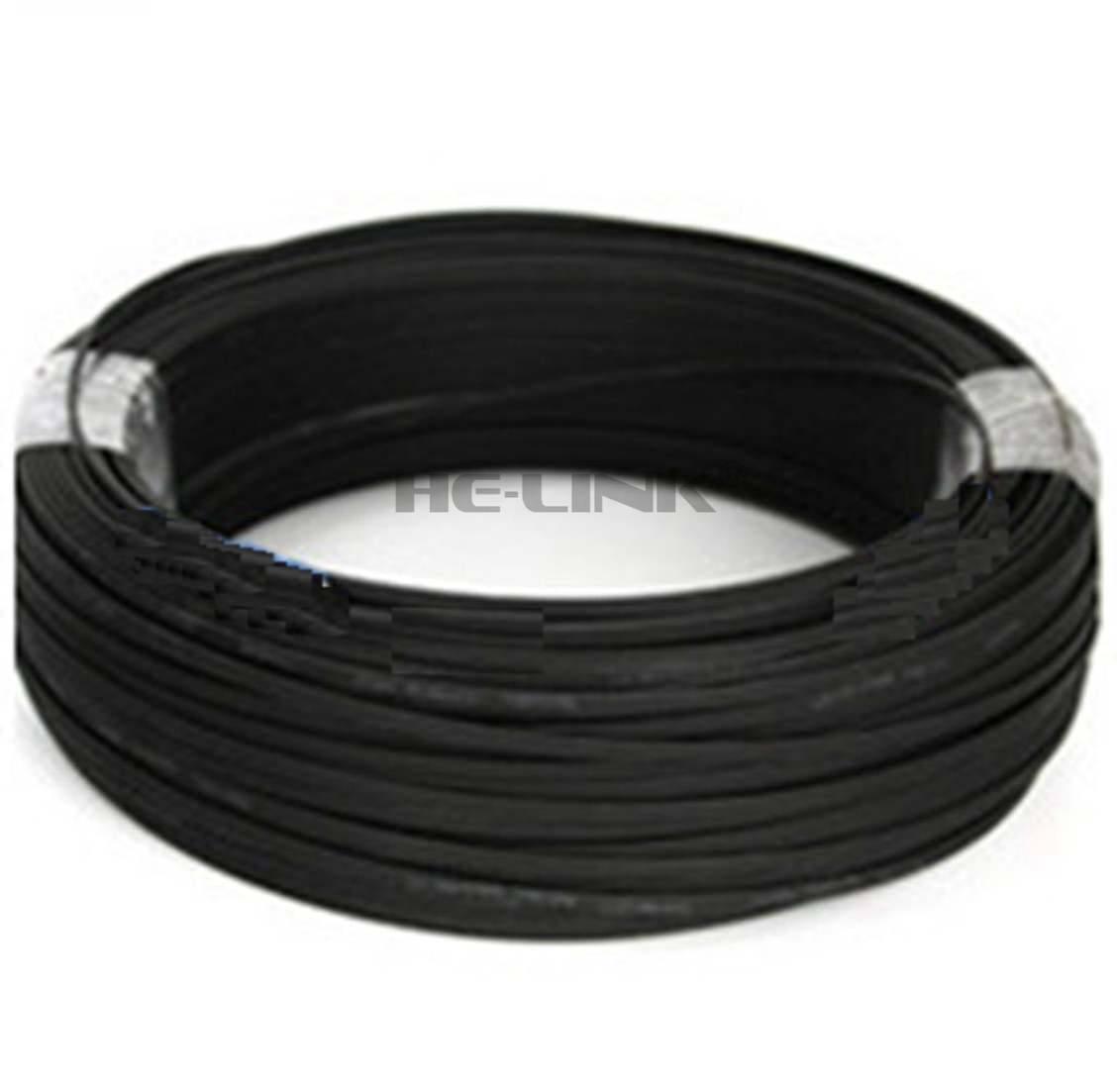 LODFIBER 170 м LC-LC открытый бронированный одномодовый 10 нитей волоконно-оптический кабель патч-корд 9/125