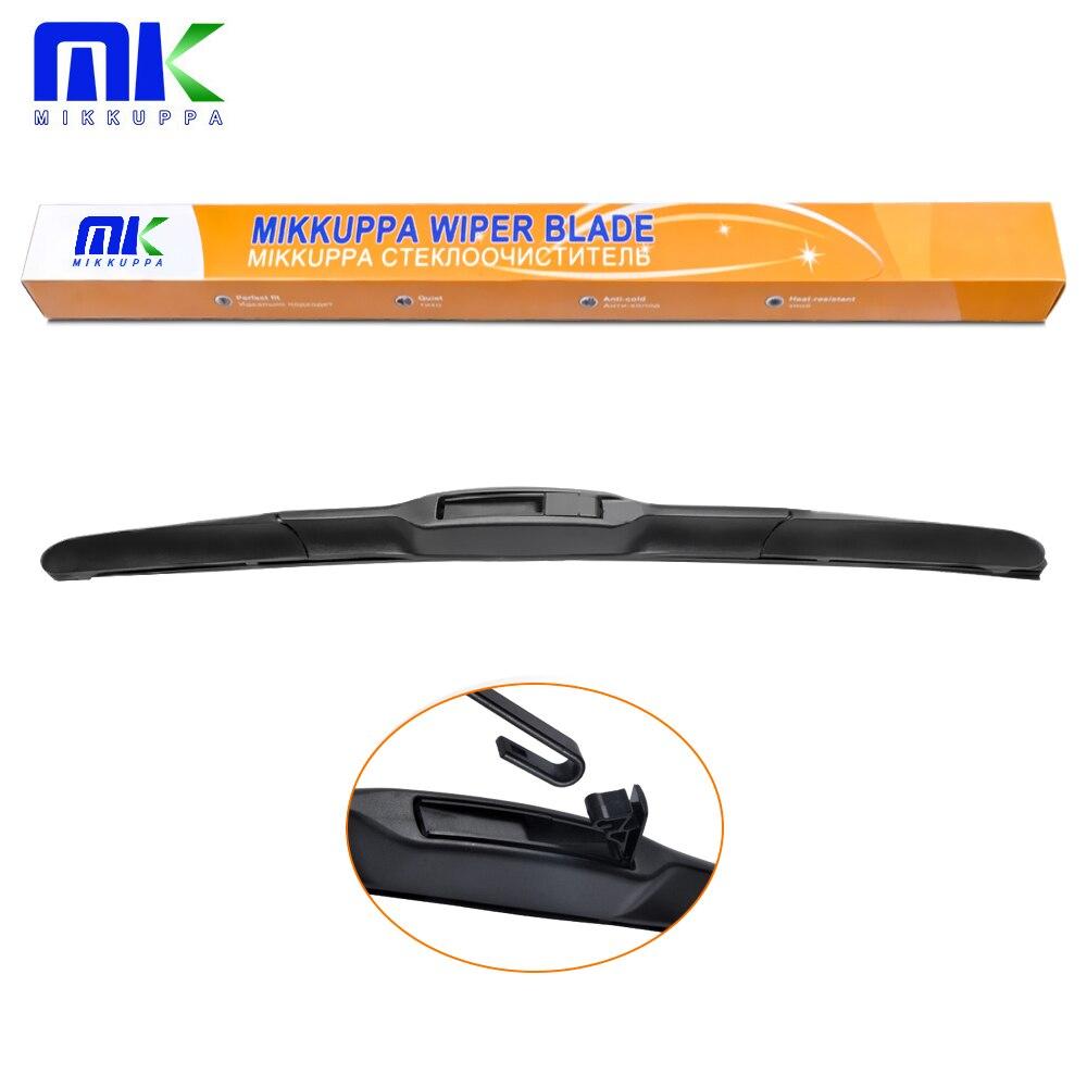 MIKKUPPA Hybrid Wiper Blade For KIA Sportage Sorento Toyota Camry Corolla Mitsubishi Outlander Fit Hook Arms Only Durable Rubber