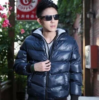 ФОТО Free shipping! 2014 NEW Autumn Winter  Plus Size XXXL Warm  High Quality Men's Down Jacket Men Winter jackets