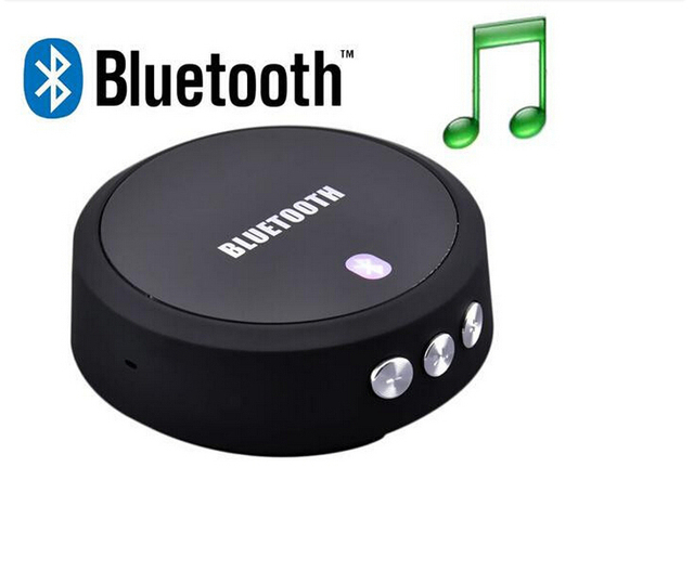 Hihg qualidade nfc sem fio bluetooth 4.0 áudio música receiver adaptador handsfree chamada fone de ouvido com microfone para iphone ipod samsung link-485