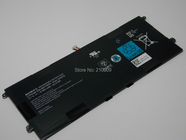 Original NEW 6CLL Laptop Battery For  Tablet Z S SSeries GPBP03
