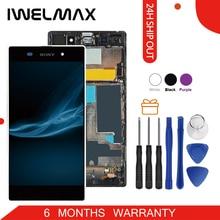 Купить Без битых пикселей 5,0 «оригинал для SONY Z1 Дисплей C6903 L39H ЖК-дисплей для SONY Xperia Z1 ЖК-дисплей Дисплей Сенсорный экран планшета