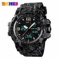 SKMEI Men Military Watch Sport Watch Waterproof Wristwatch LED Quartz Clock Male Rrelogios Masculino Outdoor Sports Watches Men