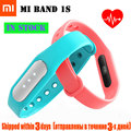 Original Xiaomi Mi Band 1S  Bracelet Fitness Tracker Heart Rate Monitor Bluetooth 4.0 Wearable Sleep Monitor Smart Wristbands
