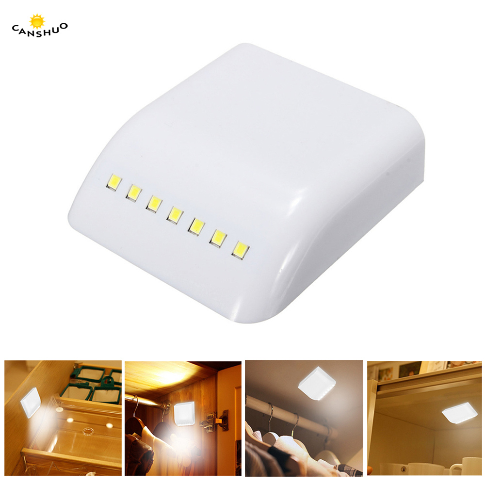 Furniture Lower Price with 1pcs Light With 6 Led Wireless Pir Motion Sensor Light Wall Cabinet Wardrobe Drawer Lamp Battery