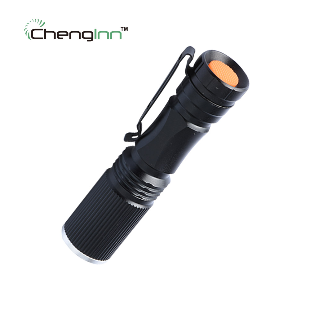Adjustable LED Flashlight 800LM lampe lantern Torch Zoomable Penlight lanternas Waterresistant chenglnn mini CREE flashlight