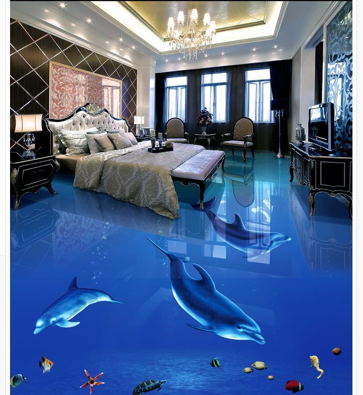 online kaufen gro handel 3d boden tapete aus china 3d. Black Bedroom Furniture Sets. Home Design Ideas